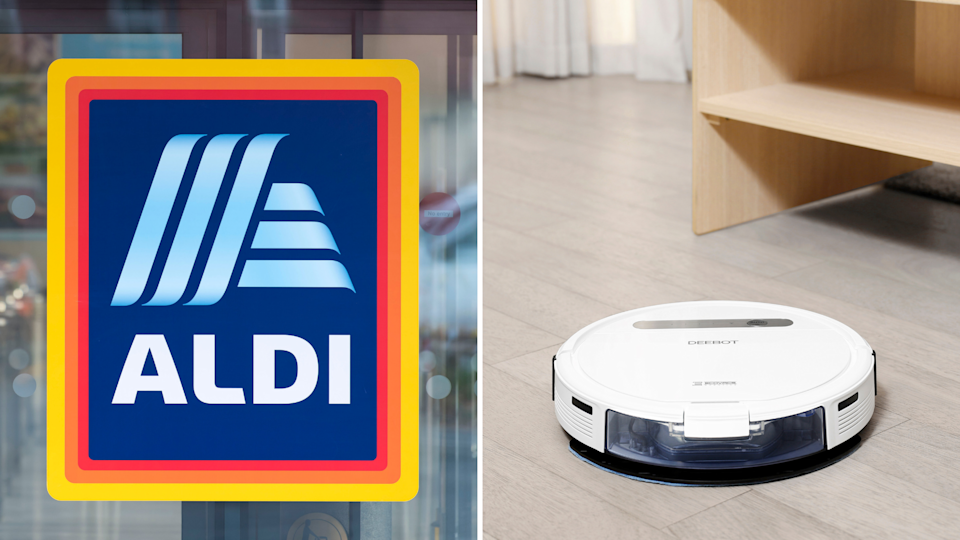 Aldi is selling robots. Images: Getty, supplied