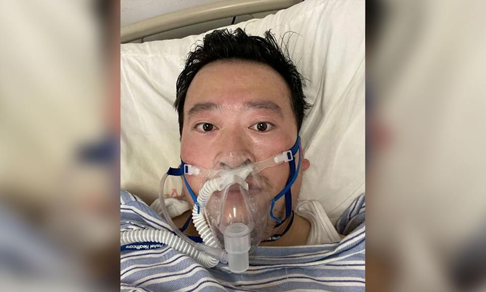 Li Wenliang, a doctor from Wuhan, China, was one of the first to recognize the public health threat of coronavirus. He now has the disease himself. (Photo: Li-Wenliang)