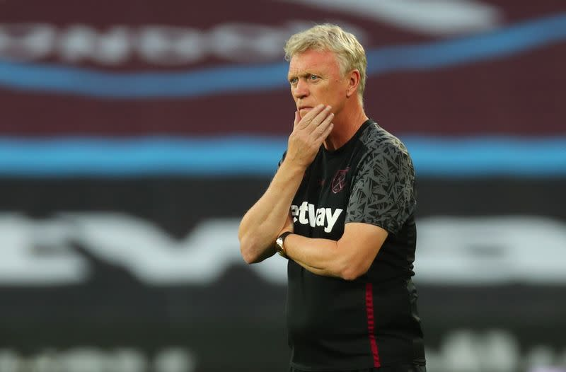 West Ham's Moyes prioritises defensive recruits as deadline approaches