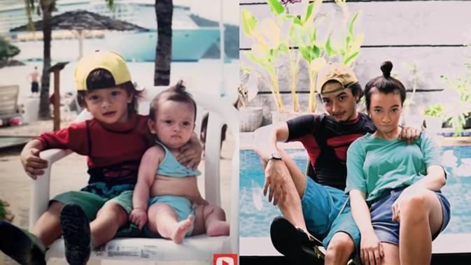 Bryan Domani dan Megan Domani. (Sumber: YouTube/ Domani Siblings)
