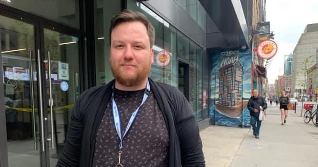 David Palardy is anintervention worker at Cactus Montreal Safe Injection Site.
