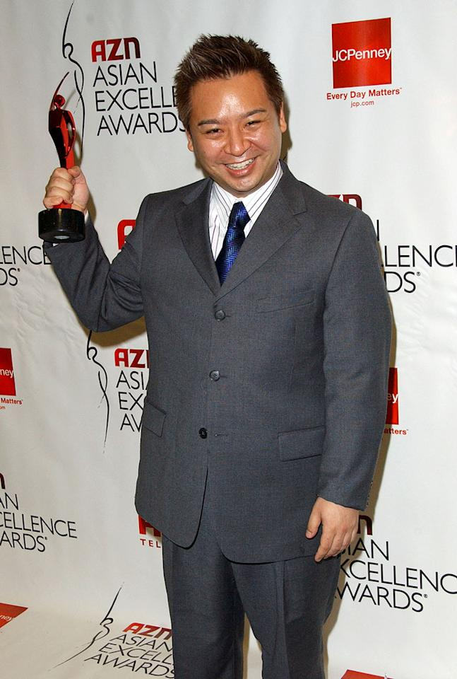 """Entourage's"" Rex Lee takes home the Outstanding Newcomer Award at the 2007 AZN Asian Excellence Awards. Albert L. Ortega/<a href=""http://www.wireimage.com"" target=""new"">WireImage.com</a> - May 16, 2007"