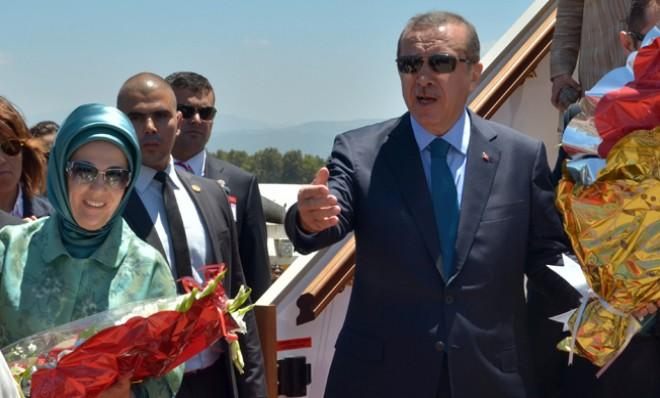 While protests erupted at home, Turkish Prime Minister Recep Tayyip Erdogan traveled to Algeria and two other countries on a four-day tour.