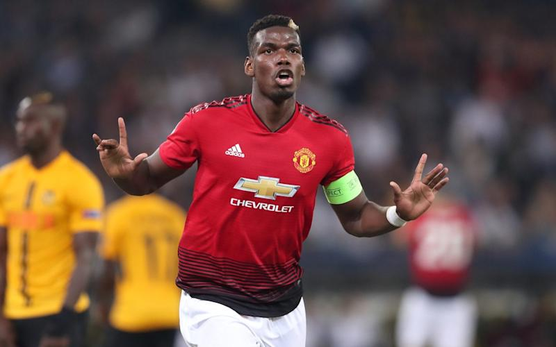 Pogba appears to have worn the Manchester United captain's armband for the last time - Getty Images Europe