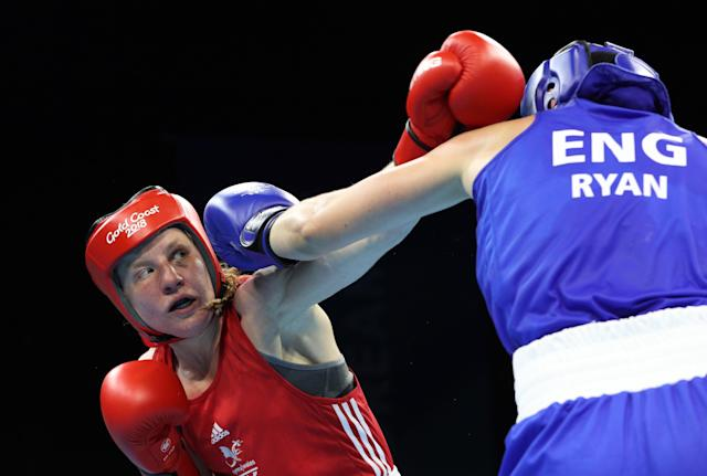 Rosie Eccles used to sneak out of the house to go and train at the boxing gym