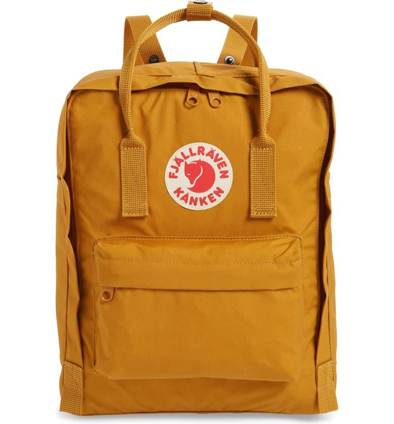 Fjällräven Kånken Water Resistant Backpack in acorn