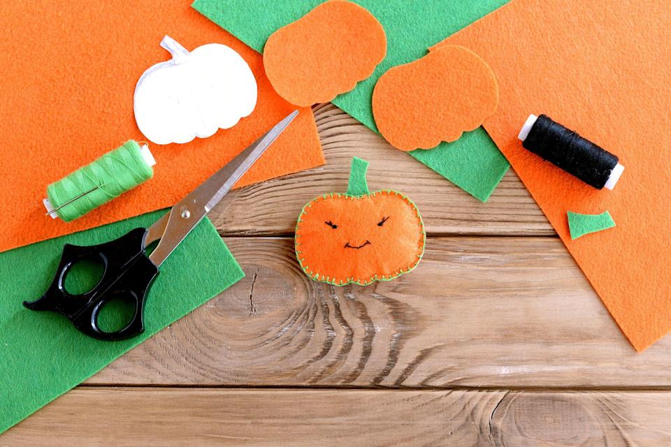 "<p>Kids of all ages <em>love</em> Halloween for so many reasons. The <a href=""https://www.countryliving.com/diy-crafts/g1360/halloween-costumes-for-kids/"" rel=""nofollow noopener"" target=""_blank"" data-ylk=""slk:DIY Halloween costumes for kids"" class=""link rapid-noclick-resp"">DIY Halloween costumes for kids</a> alone are worth getting super excited about. Our guess is that they're in it for the candy (but so are we, right?).</p><p>Beside the costumes, candy, and trick-or-treating, Halloween is a great season to flex those creative muscles. Take these easy Halloween crafts for kids for example, that will entertain, delight, and inspire children of all ages and skill levels. They'll have such fun putting on a puppet show with homemade paper bag monster puppets and festive and happy Halloween finger puppets. And because we know they're here for the sweets, edible crafts like spider cookies (constructed with Oreos, pretzel sticks, candy corn, marshmallows, and frosting) will be an instant hit—and will disappear quickly.</p><p>Whether you're creating a show-stopping entrance with <a href=""https://www.countryliving.com/diy-crafts/g1370/outdoor-halloween-decorations/"" rel=""nofollow noopener"" target=""_blank"" data-ylk=""slk:outdoor Halloween decorations"" class=""link rapid-noclick-resp"">outdoor Halloween decorations</a> for your house and the best <a href=""https://www.countryliving.com/diy-crafts/g279/pumpkin-carving-ideas/"" rel=""nofollow noopener"" target=""_blank"" data-ylk=""slk:pumpkin-carving ideas"" class=""link rapid-noclick-resp"">pumpkin-carving ideas</a> or trying out some new <a href=""https://www.countryliving.com/diy-crafts/how-to/g1024/do-it-yourself-halloween-decorations-1010/"" rel=""nofollow noopener"" target=""_blank"" data-ylk=""slk:DIY Halloween crafts and decorations"" class=""link rapid-noclick-resp"">DIY Halloween crafts and decorations</a>, the season is filled with loads of hands-on fun. Get your little pumpkins in the Halloween spirit this year—and keep them busy for hours—with these 41 easy Halloween crafts for kids. </p>"