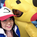 """<p>This Halloween, go out as this iconic duo: Ash and Pikachu from <em>Pokémon</em>.</p><p><a class=""""link rapid-noclick-resp"""" href=""""https://www.amazon.com/Inflatable-Costume-Yellow-Mascots-Halloween/dp/B08136633C/?tag=syn-yahoo-20&ascsubtag=%5Bartid%7C10072.g.27868801%5Bsrc%7Cyahoo-us"""" rel=""""nofollow noopener"""" target=""""_blank"""" data-ylk=""""slk:SHOP PIKACHU COSTUME"""">SHOP PIKACHU COSTUME</a></p>"""