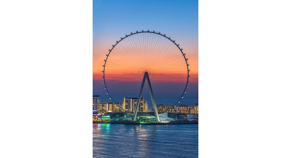 The structure can seat 1,400 passengers, over double the 800 that the London Eye can hold (SWNS)