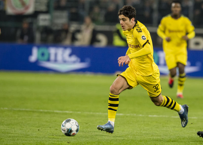 American teenager Giovanni Reyna and Borussia Dortmund should be on upset alert against Schalke in the Revierderby. (Photo by Alexandre Simoes/Borussia Dortmund via Getty Images)