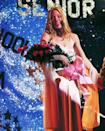 """<p>Though her dress was eventually drenched in blood (spoiler alert), Carrie's pink gown was lovely <em>before</em> the night of horror began. Now, if only they could've kept it that way ...</p><p><a class=""""link rapid-noclick-resp"""" href=""""https://www.amazon.com/gp/video/detail/B0046B4VXQ/ref=atv_dl_rdr?tag=syn-yahoo-20&ascsubtag=%5Bartid%7C10063.g.36197518%5Bsrc%7Cyahoo-us"""" rel=""""nofollow noopener"""" target=""""_blank"""" data-ylk=""""slk:STREAM NOW"""">STREAM NOW</a></p>"""