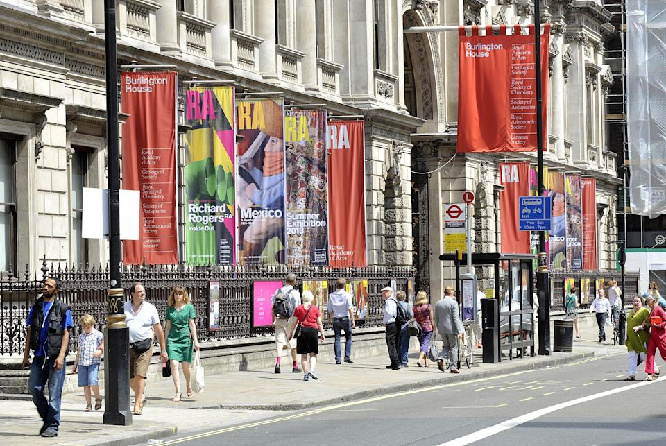 The Royal Academy of Arts in London (PA Archive)