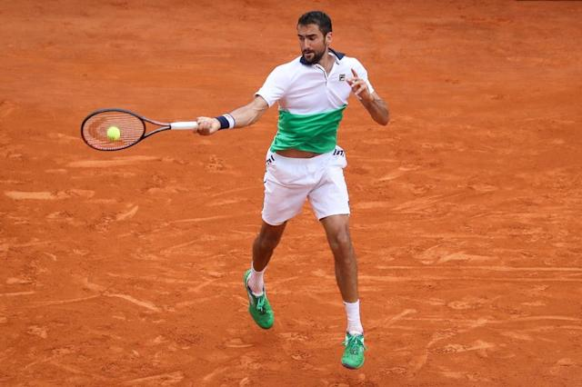 Marin Cilic crashed out prematurely in Monte Carlo (AFP Photo/Valery HACHE)