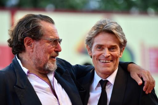 """Willem Dafoe, right, stars as Van Gogh in director Julian Schnabel's """"At Eternity's Gate"""", which depicts the painter's death not as a suicide but an accident involving two local boys"""
