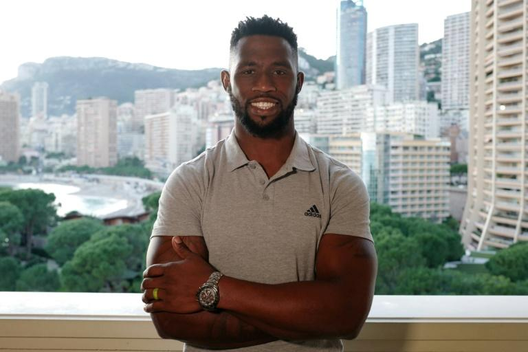 Siya Kolisi was in Monaco to collect a 'Champion of Peace' but looks forward to getting back to training
