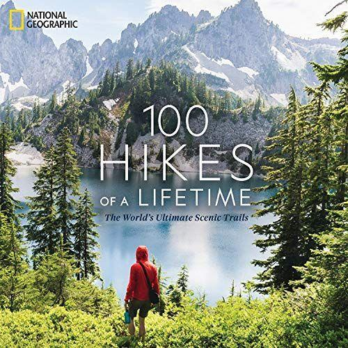 """<p><strong>National Geographic</strong></p><p>amazon.com</p><p><strong>$36.79</strong></p><p><a href=""""https://www.amazon.com/dp/1426220952?tag=syn-yahoo-20&ascsubtag=%5Bartid%7C10055.g.399%5Bsrc%7Cyahoo-us"""" rel=""""nofollow noopener"""" target=""""_blank"""" data-ylk=""""slk:Shop Now"""" class=""""link rapid-noclick-resp"""">Shop Now</a></p><p>This bucket list-worthy book will give him inspiration for the years ahead. It's full of 100 breathtaking hiking trails, spanning from short day trips (California's Sierra High Route) to week-long excursions (Bhutan's Snowman Trek).</p><p><strong>RELATED:</strong> <a href=""""https://www.goodhousekeeping.com/holidays/gift-ideas/g28748940/best-gifts-for-husbands/"""" rel=""""nofollow noopener"""" target=""""_blank"""" data-ylk=""""slk:The Best Gifts for Husbands"""" class=""""link rapid-noclick-resp"""">The Best Gifts for Husbands</a></p>"""
