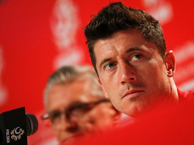 Robert Lewandowski is spearheading Poland's World Cup campaign