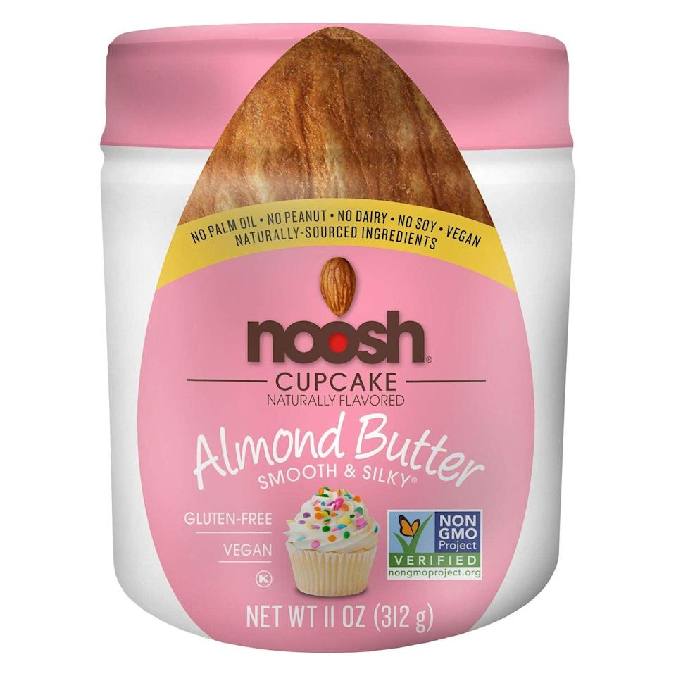 <p>These <span>Noosh Almond Butter Cupcake Packets</span> ($14) have 90 calories and three grams of carbs per serving. So basically, we just found our new go-to snack.</p>