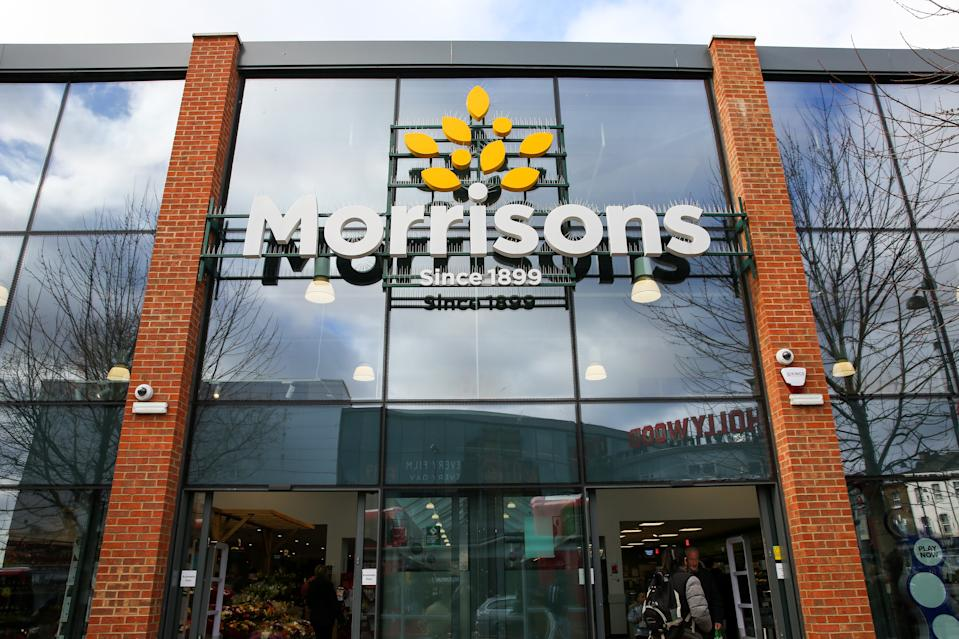 LONDON, UNITED KINGDOM - 2020/02/17: An Exterior view of Morrisons in London. (Photo by Dinendra Haria/SOPA Images/LightRocket via Getty Images)