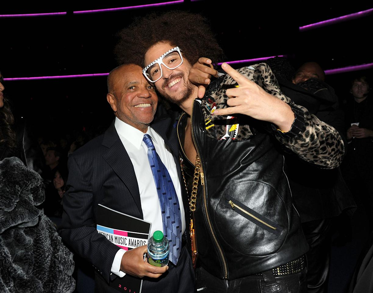 Redfoo and Barry Gordy