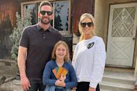 """<p>Haack also told <a href=""""https://www.usmagazine.com/celebrity-moms/news/tarek-el-moussa-christina-anstead-are-coparenting-better/"""" rel=""""nofollow noopener"""" target=""""_blank"""" data-ylk=""""slk:Us"""" class=""""link rapid-noclick-resp""""><i>Us</i></a>, """"We're just making sure that we're on the same page,"""" when speaking about coparenting amid the pandemic. """"I went over there [to Tarek's] and showed them how we were doing homeschool because I had them the first few days. We just, like, make sure we're helpful with each other.""""</p>"""