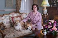 """<p>The fourth season of <em>The Crown</em> features Oscar winner Olivia Colman in the role of Queen Elizabeth II. Plus, you get your first look at Princess Diana as a young woman struggling with her marriage and place in the royal family. </p> <p><a href=""""https://www.netflix.com/title/80025678"""" rel=""""nofollow noopener"""" target=""""_blank"""" data-ylk=""""slk:Available to stream on Netflix"""" class=""""link rapid-noclick-resp""""><em>Available to stream on Netflix</em></a></p>"""