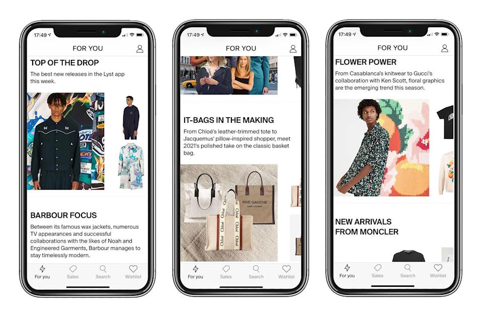 <p>Lyst has over 150 million shoppers using its app </p> (Lyst )