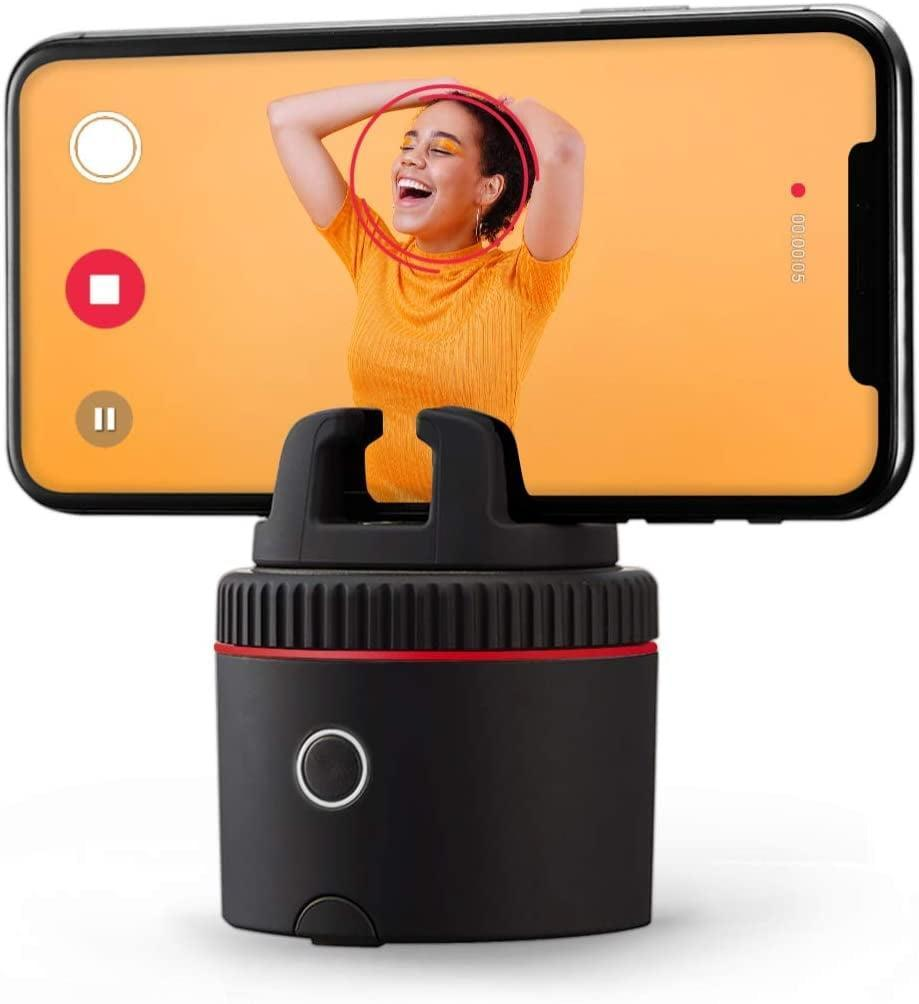<p>The <span>Pivo Pod</span> ($199) is a must have for content creation. It is a portable, auto-tracking phone stand that tracks and follows the subject to capture every expression and movement. </p>
