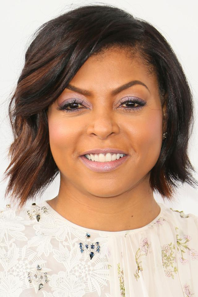 <p>Taraji P Henson's layered bob and highlights is the perfect haircut for warm weather months.</p>
