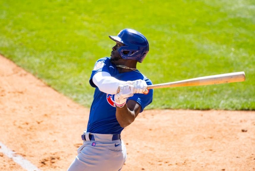 Cameron Maybin with Cubs 2021