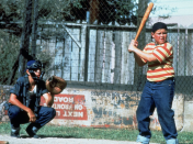 <p>Age doesn't matter when it comes to denim. The kids of <em>The Sandlot </em>swung for the fences in jeans, cementing their place in sports — and fashion — history. </p>