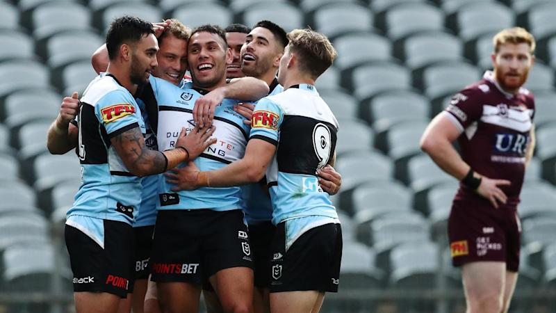 NRL EAGLES SHARKS