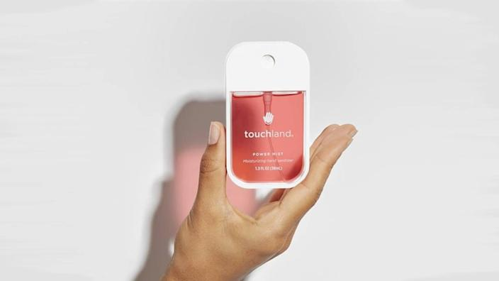 This adorable hand sanitizer has gone viral on TikTok (Photo: Touchland)
