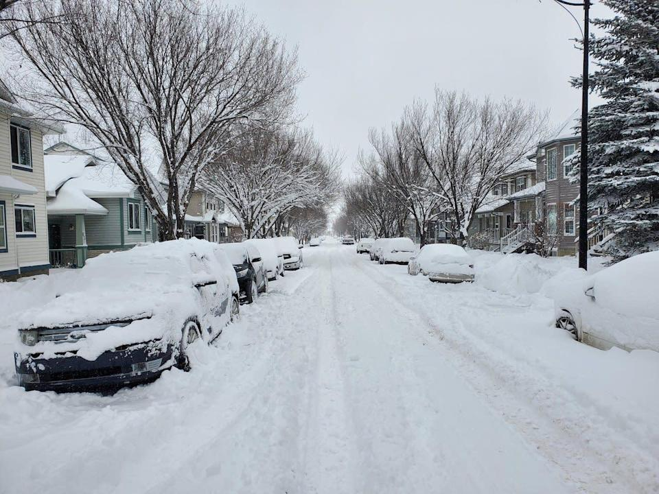 Punishing snow moves into Manitoba, totals skyrocket to 70 cm in Alberta town
