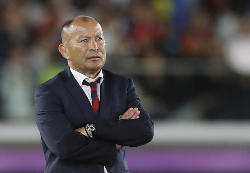 Eddie Jones admits he made two selection mistakes in World Cup final
