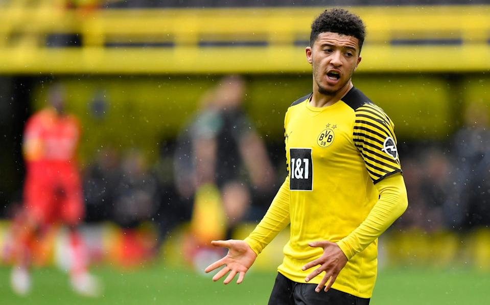 Manchester United's £60m opening bid for Jadon Sancho rejected by Borussia Dortmund - AP