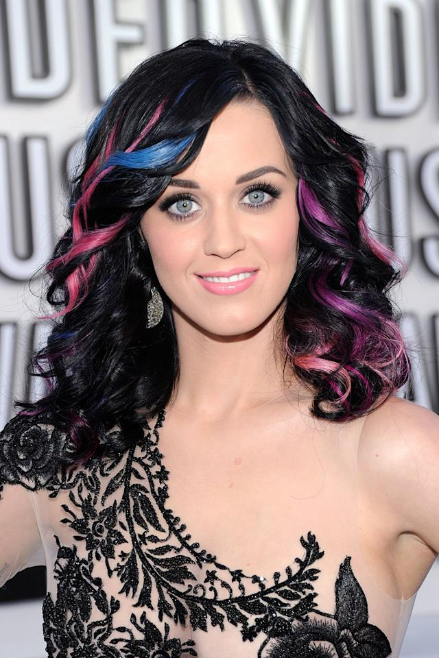 <p>At the MTV Video Music Awards in Los Angeles.</p>