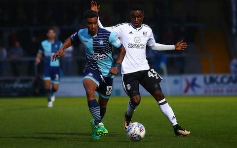 <span>Steven Sessegnon has featured in the League Cup twice for Fulham this season</span> <span>Credit: Getty Images </span>