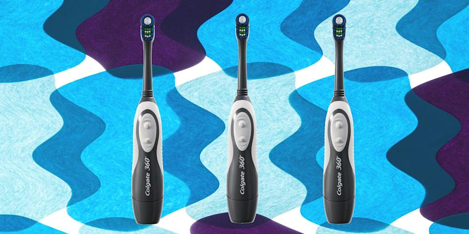 """<div class=""""caption"""">One of our favorite deals from Prime Days past: electric toothbrushes.</div><cite class=""""credit"""">Courtesy of brand/Lauren Swanson</cite>"""