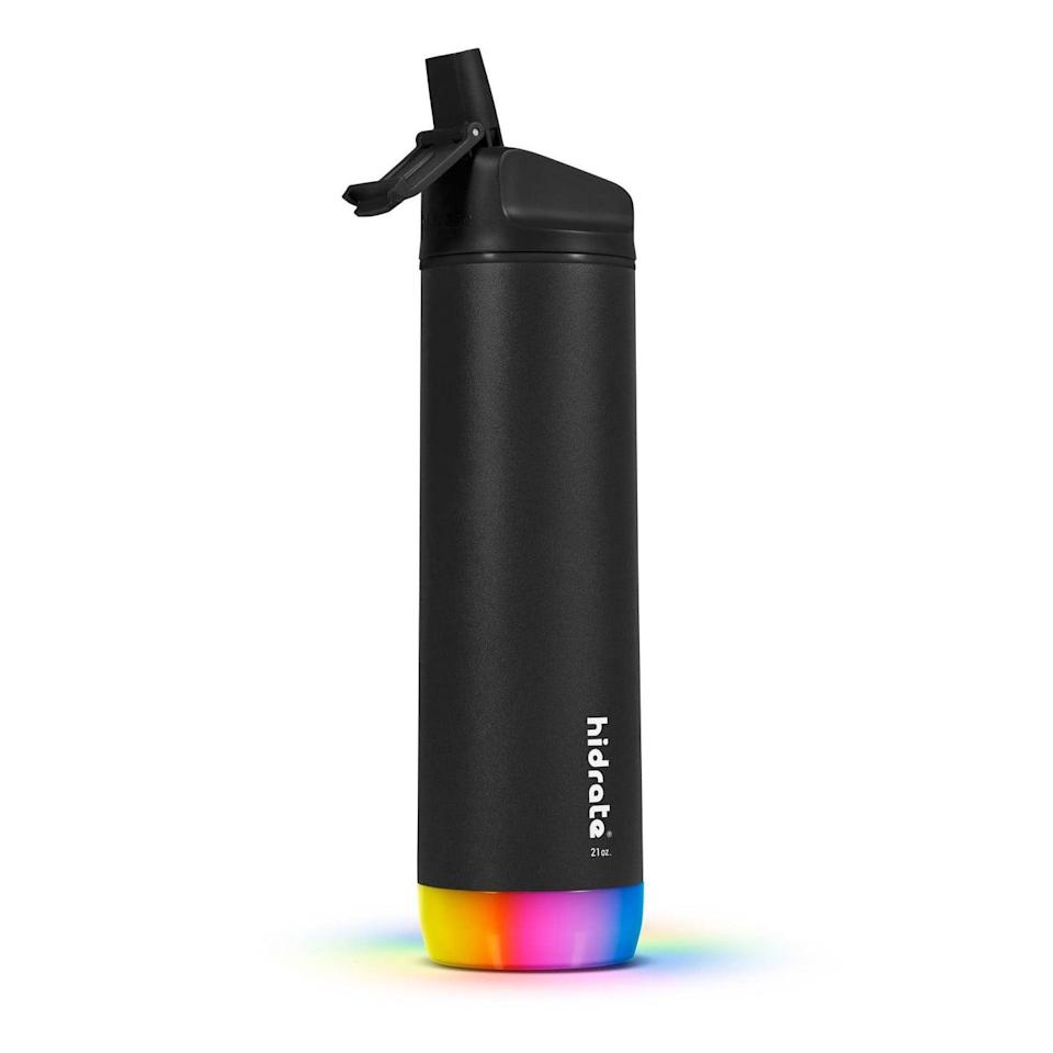 <p>If you prefer straw lids, you can get the <span>Hidrate Spark Steel Smart Water Bottle with Straw Lid</span> ($70).</p>