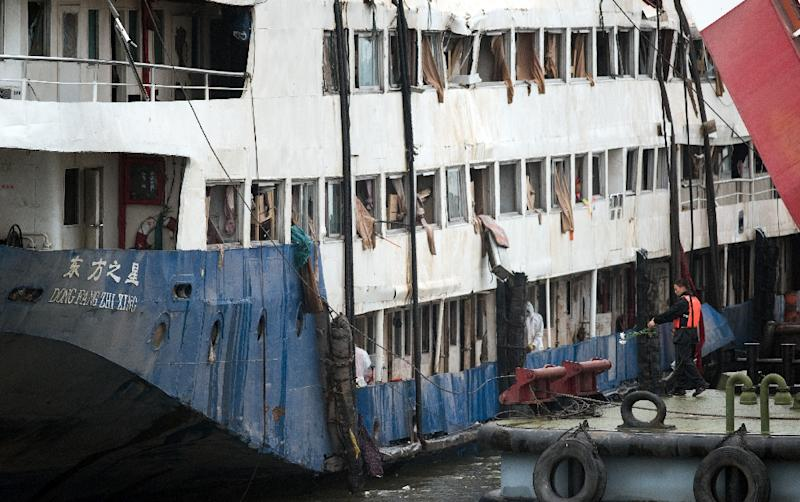 The Eastern Star cruise ship capsized on China's Yangtze river in June with mostly elderly holidaymakers on board