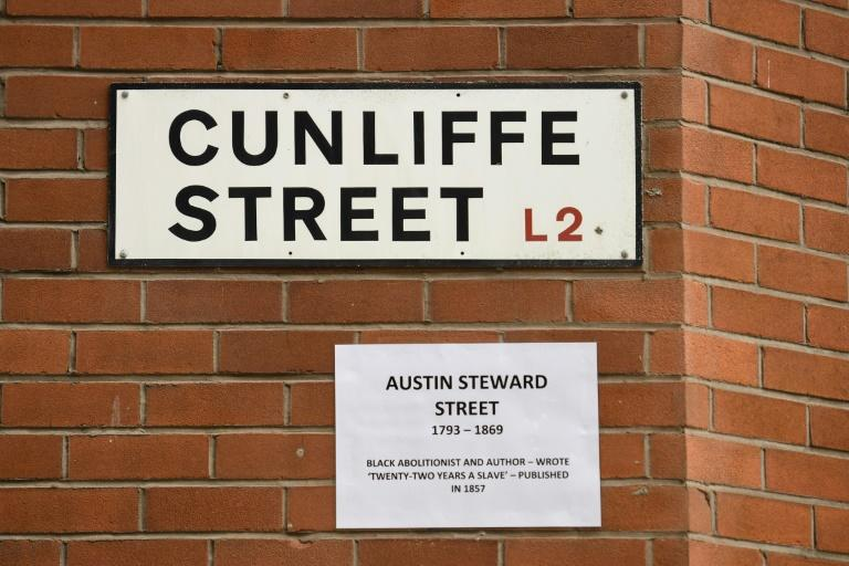 Cunliffe Street, named after owners of the first registered Liverpool slave ships, now has an alternative name celebrating black author Austin Steward