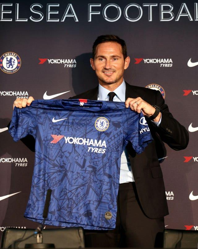 In July 2019, after a spell managing Championship side Derby, Lampard was appointed as Chelsea manager