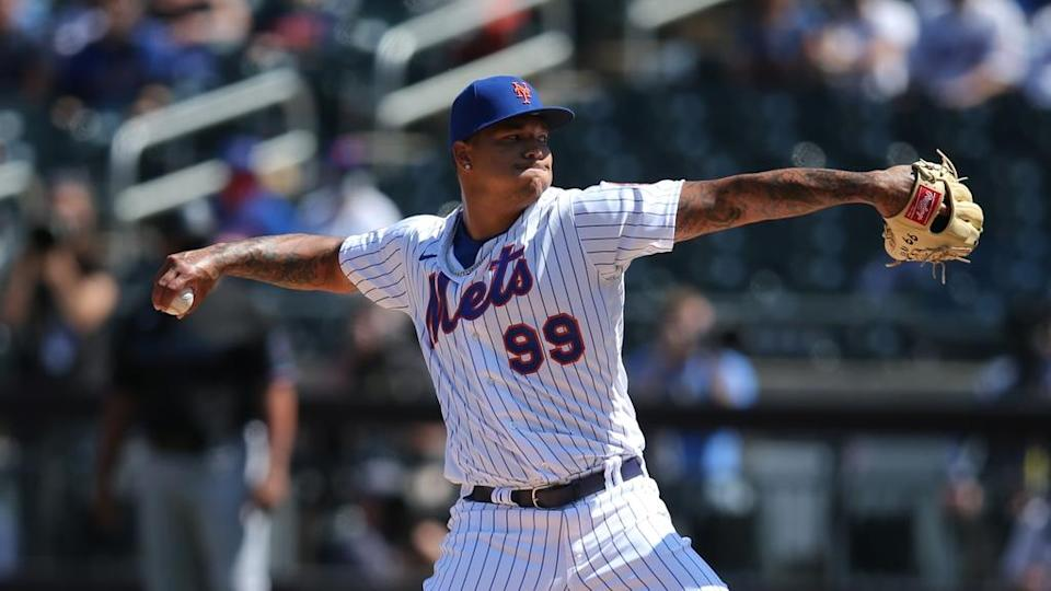 Taijuan Walker pitches at Citi Field in Mets debut