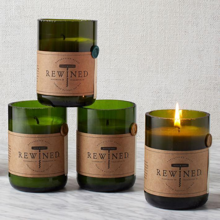 """<p><strong>Rewines</strong></p><p>westelm.com</p><p><a href=""""https://go.redirectingat.com?id=74968X1596630&url=https%3A%2F%2Fwww.westelm.com%2Fproducts%2Frewined-candles-d384&sref=https%3A%2F%2Fwww.bestproducts.com%2Fhome%2Fg33012977%2Fwest-elm-summer-home-decor-sale%2F"""" rel=""""nofollow noopener"""" target=""""_blank"""" data-ylk=""""slk:Shop Now"""" class=""""link rapid-noclick-resp"""">Shop Now</a></p><p><del>$30</del><strong><br>$22.50 </strong></p><p>Light up the night by picking up a beautiful candle ... or five. Rewined's assortment is specially designed to mimic the appearance and aroma of your favorite vino, so it's the perfect thing to light during your next virtual happy hour.</p>"""