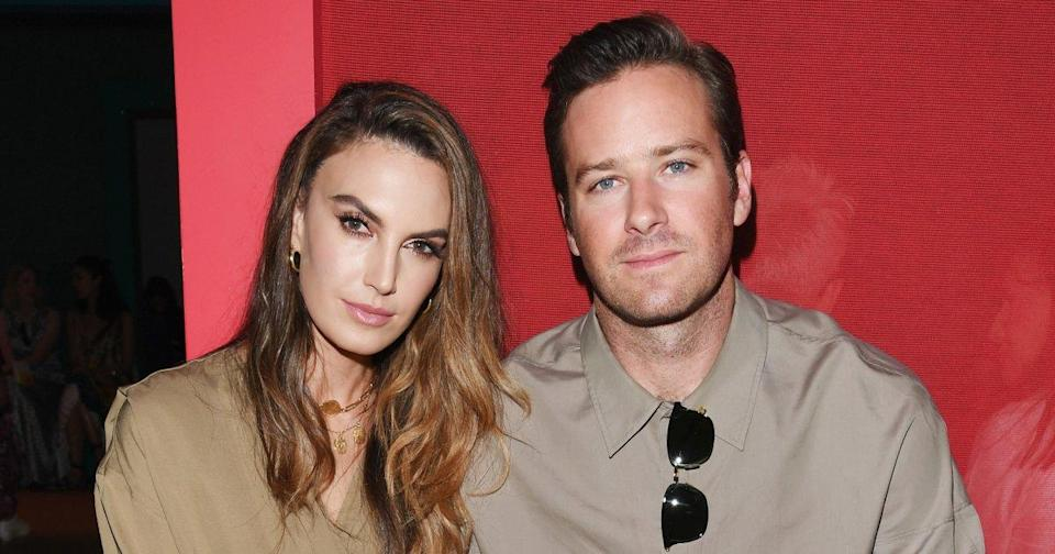 Armie Hammer's Wife Responds to Clip of Son Sucking Actor's Toes