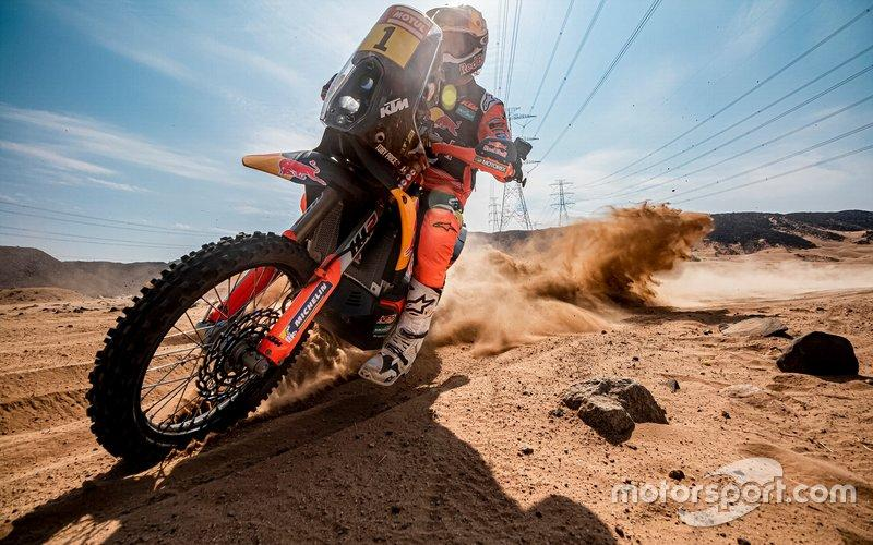 "#1 Red Bull KTM Factory Racing: Toby Price<span class=""copyright"">KTM </span>"