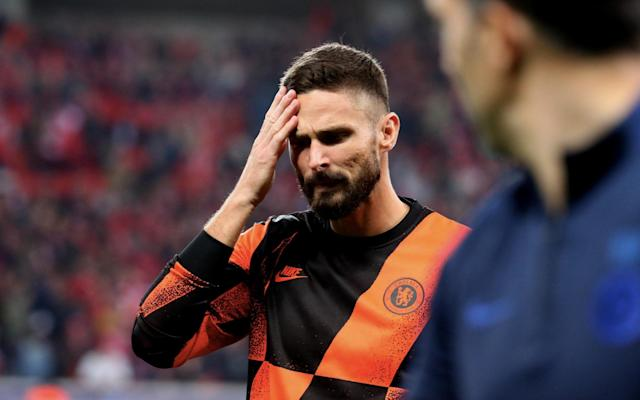 Chelsea striker Olivier Giroud has seen limited action for his club this season - Getty Images Europe
