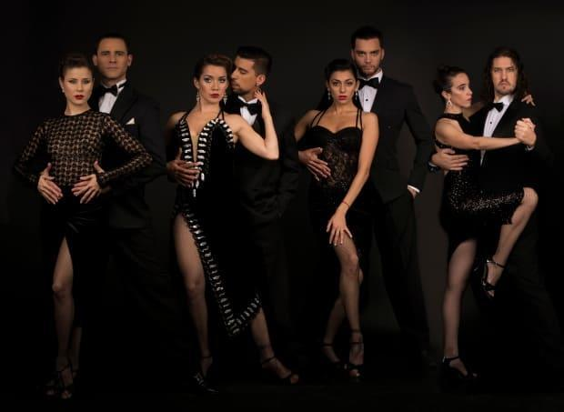 Some of the dance couples featured in Tango: The Musical.