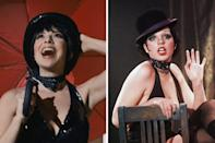 """<p>Icon of stage and screen (and one of Halston's closest friends) Liza Minnelli is portrayed by Krysta Rodriguez, who herself has experience performing both on Broadway (<em>The Addams Family</em>, <em>A Chorus Line</em>, <em>In The Heights</em>, and <em>Spring Awakening</em>) and in TV shows like <em>Younger</em> and <em>Smash</em>. </p><p>In an interview published in <em>T</em><em>own & Country</em>'s May issue, Rodriguez dished about how she tackled the role. """"Liza has been replicated so often by people trying to do impersonations and emulate her,"""" she said. """"What I wanted to get into was her emotional journey and her relationship to Halston. They were linked their whole lives, and I think that the two of them meeting created both of them.""""</p><p>An aptitude for entertaining isn't the only thing Rodriguez holds in common with Minnelli. <em>T&C</em> also caught up with director Dan Minahan, who shared why Rodriguez was such a good fit for the role. """"Besides the similarities of Krysta's physicality–she has the right bone structure and those big, beautiful eyes–she had something about her. That guileless quality, the sadness, and the tenacity that Liza has.""""</p><p>""""What I tried to honor was her genuine humanity,"""" Rodriguez told <em>T&C</em>.</p>"""